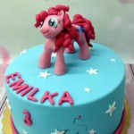 tort z kucykiem Pinki Pie dla Emilki
