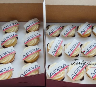 muffinki z wydrukiem logo
