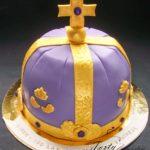 tort korona dla króla