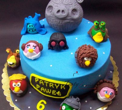 tort angry birds - Star Wars