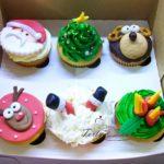 muffinki  świąteczne z choinką