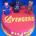 tort  Avengers lego dla Filipka