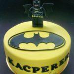 tort z logo batman z lego Batmanem