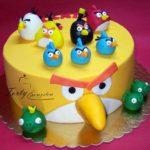 tort z nagry birds żółty.l