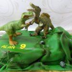 walczące dinozaury