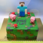 tort Minecraft dla Stasia