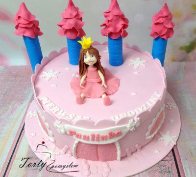 tort zamek dla ksiezniczki