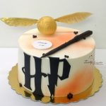 tort bez masy cukrowej harry potter