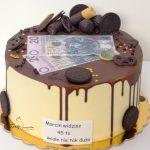 tort drip z pieniędzmi